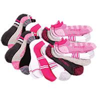 Zone In Women's Athletic Socks - 20 Pack