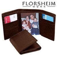 Florsheim Trifold RFID Wallet - Brown