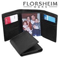 Florsheim Trifold RFID Wallet - Black