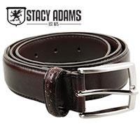 Stacy Adams Brown Wingtip Belt