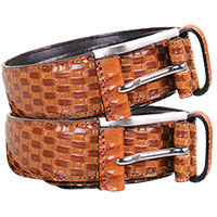 Stacy Adams Basket Weave Belts