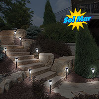 Sol Mar Color Changing Solar Lights