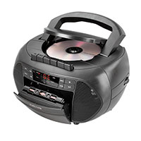 Craig CD6951 CD Player Boombox with AM/FM and Cassette