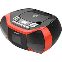 Coby Cassette/Radio/CD Player With USB