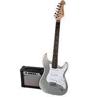 Spectrum AIL 278B Electric Guitar & AMP - Silver