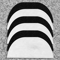 6 Pack Filter For Dual Deep Fat Fryer - Heartland America Item Number 69552