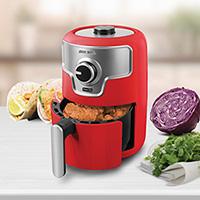 DASH 1.6 Quart Red Compact Air Fryer