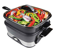 Vitachef K47808 Healthy Cooking Steamer Skillet