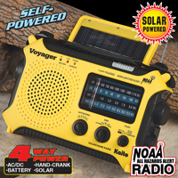 Voyager Yellow Emergency Radio