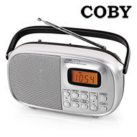 Coby 4-Band Portable Radio