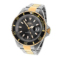Rogue Men's Black Two-Toned Mariner Watch