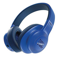 JBL Over the Ear Wireless Blue Headphones