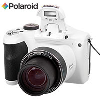 White Polaroid 16.1 MP Digital Camera