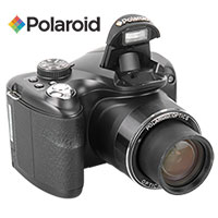 Polaroid 20.1MP 72X Opt Zoom Camera with SD Card