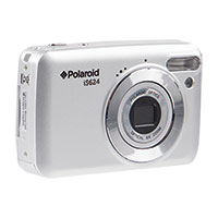 Polaroid 16MP/6X Zoom Silver Digital Camera