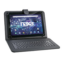 "Naza NID-1052 10.1"" Tablet with Bluetooth Keyboard & Case"