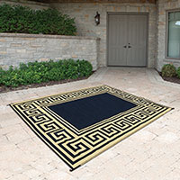Reverse Indoor/Outdoor Patio Mat