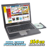 Dell Duo Core Laptop - 160GB