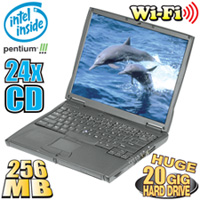 Pentium 3 Notebook Computer With Wireless