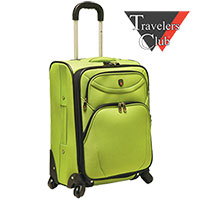 Expandable Spinner Carry-On Luggage
