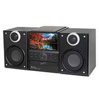 Supersonic Hi-Fi Audio Micro System DVD Player with Bluetooth