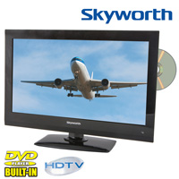Skyworth HDTV with On-Board DVD Player