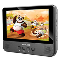 Digiland Quad Core 9 Inch Tablet with DVD Player