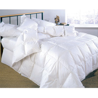 Chamonix White Lightweight Down Comforter - King