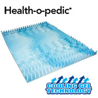 Health-o-pedic Gel Topper