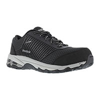 Reebok Men's Black Heckler Athletic Safety Shoes