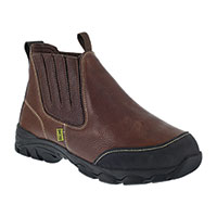 Iron Age Men's Brown Slip-On Work Boots