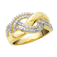 Women's Gold & Diamond Ring