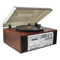 Boytone BT-38SM 8-in-1 Turntable Music System