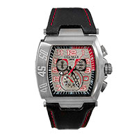 Emtech Lacosta Sport Chrono Watch - Silver