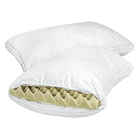 Health-O-Pedic Memory Foam Pillows - 2 Pack
