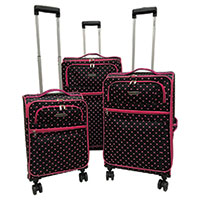 Karriage Mate 3-Piece Soft Sided Luggage