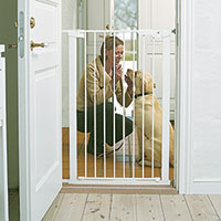 Scandinavian White Pet Premier Gate