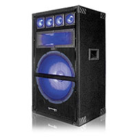 Technical Pro VRTX15L 15Inch Carpeted Cabinet Speaker