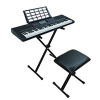 Technical Pro 61-Hey Electric Keyboard Bundle