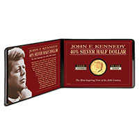 American Coin Treasures JFK Half Dollar - Gold Layered