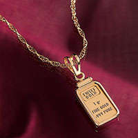 American Coin Treasures 1-Gram Gold Necklace