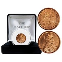 The Mathew Mint 1909 Lincoln Wheat Penny