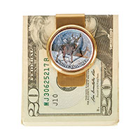 The Mathew Mint JFK Deer Money Clip