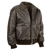 Burks Bay Men's Brown Lambskin Bomber Jacket