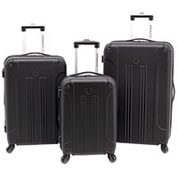 Travelers Club 3-Piece Chicago Luggage Set