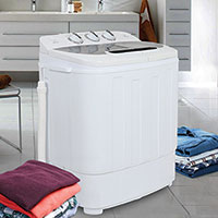 Zeny Products Compact Twin Tub Washing Machine