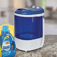 Zeny Mini Counter Top Washing Machine