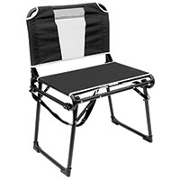 Creative Outdoors Black Bleacher Chair