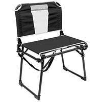 Creative Outdoors Black Bleacher Chair