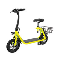 Glare Wheel Folding City Scooter E-Bike